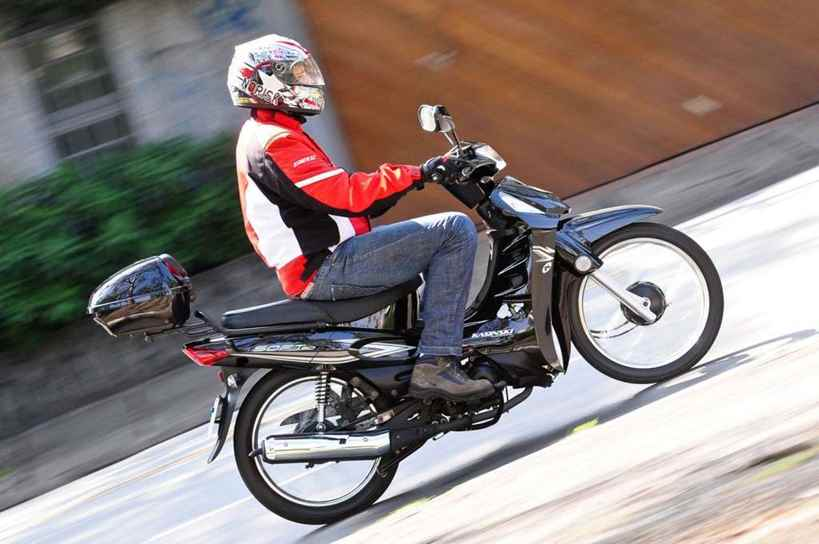 habilitação para motos 50cc