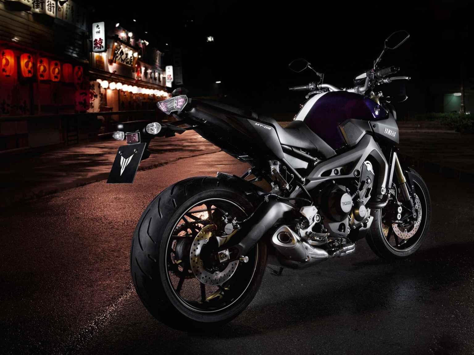Nova Yamaha MT-09 2016