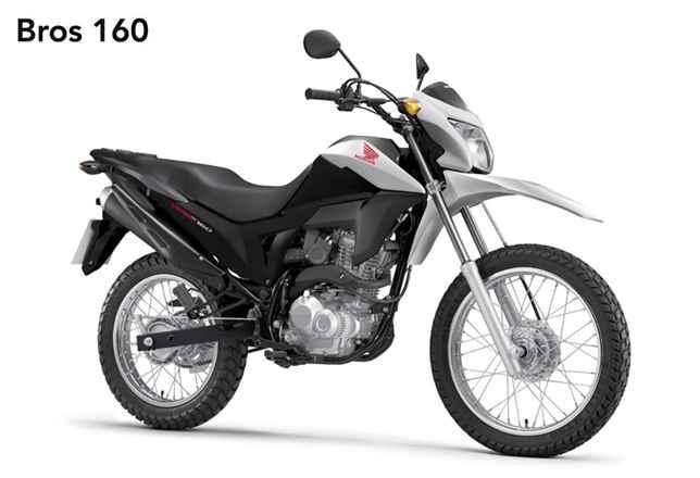 Nova HONDA NXR 160 BROS 2017