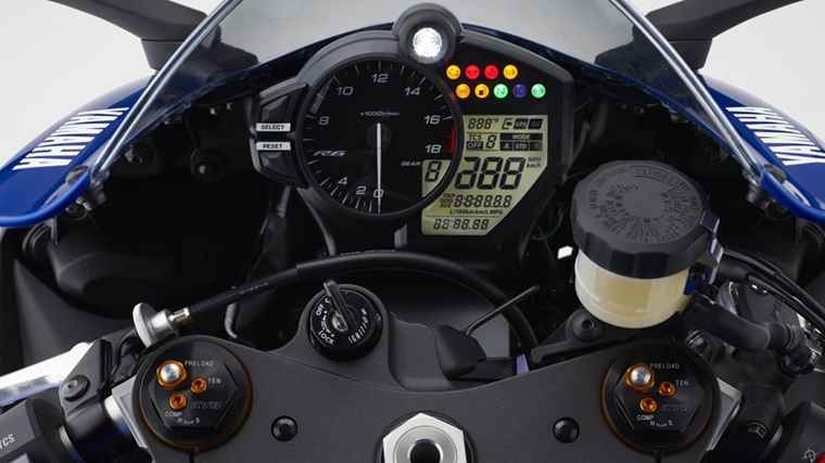 Nova Yamaha YZF-R6 2017