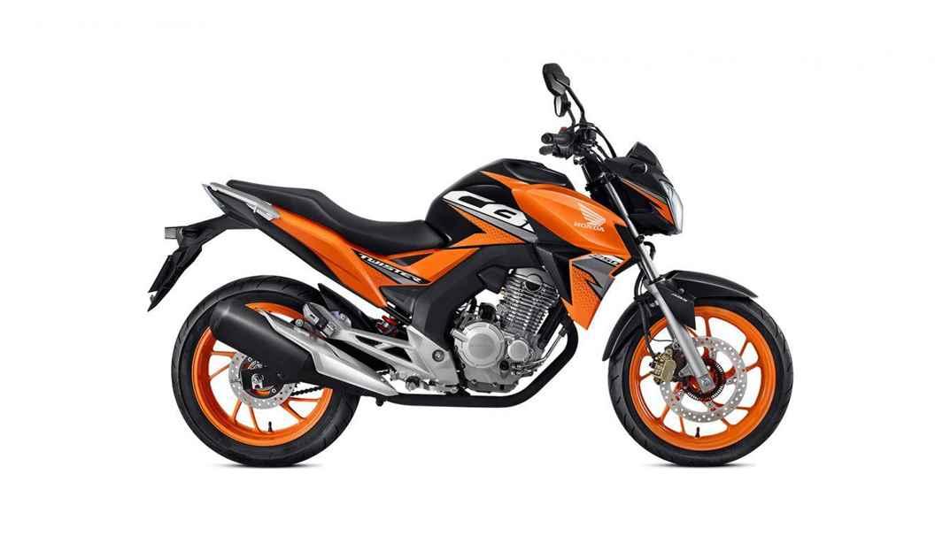 Imagem da twister 2021 na cor laranja