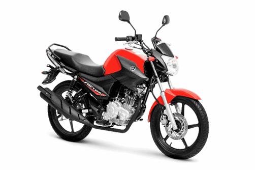 Nova Yamaha YBR 2018