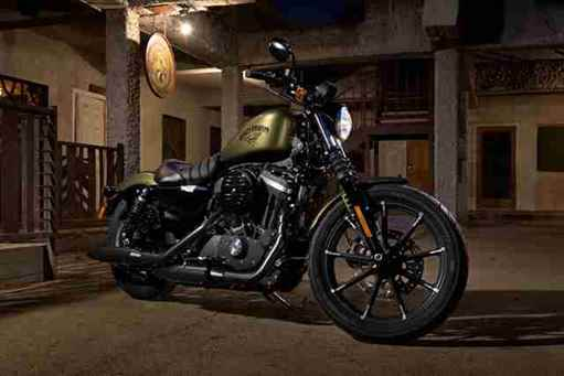 Nova Harley-Davidson 883 2017