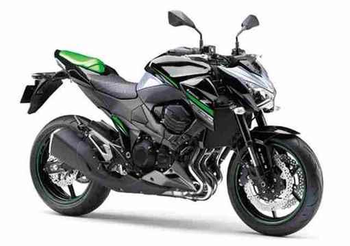 Nova Kawasaki Z800 2017