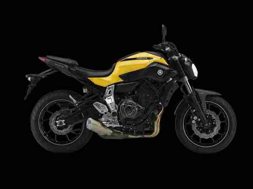 Nova Yamaha MT-07 2018