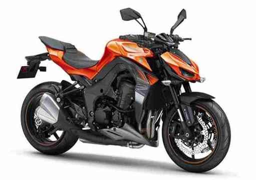 Nova Kawasaki Z1000 2018