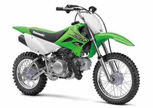 Nova Kawasaki KLX110 2018