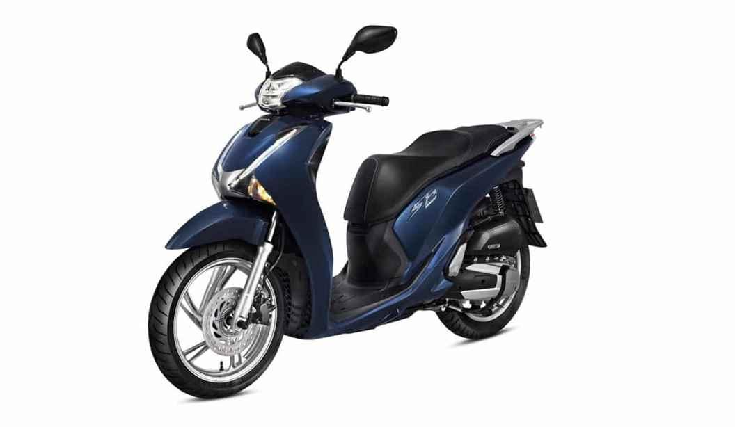 Imagem da Honda SH 150i na cor azul