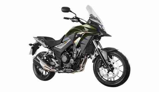 Nova Honda CB 500X 2019