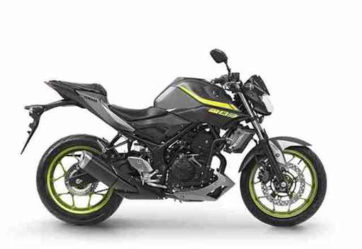 Nova Yamaha MT-03 2019