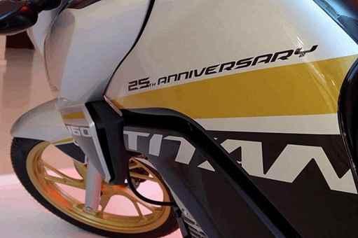 CG 160 TITAN EDIÇÃO ESPECIAL DE 25 ANOS