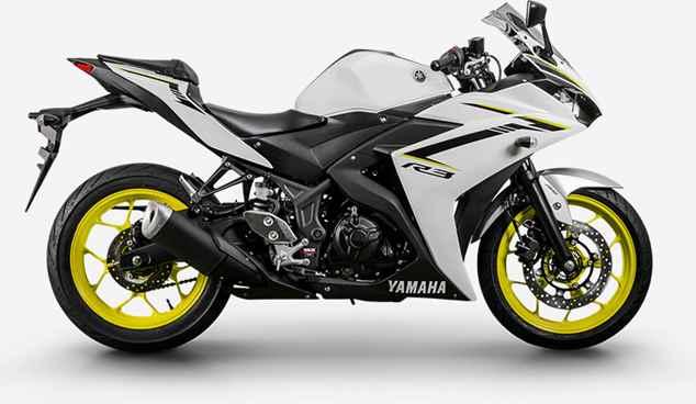 Nova Yamaha R3 2019 Branca
