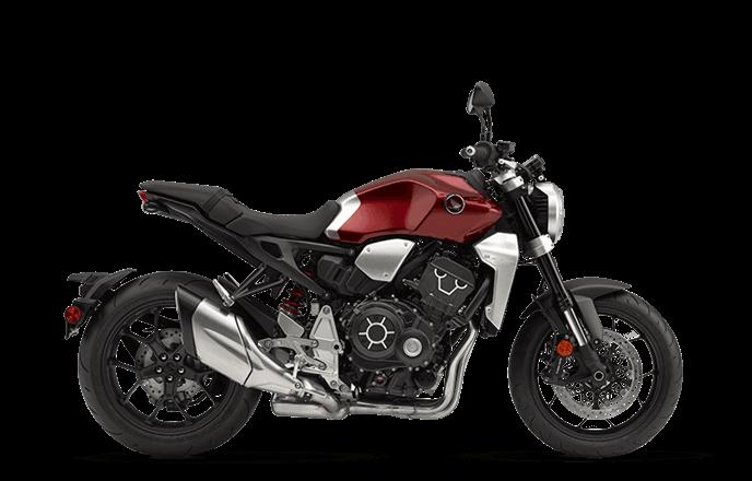Vermelha lado Nova CB 1000R 2019