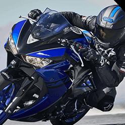 Farois da Nova Yamaha R3 2019