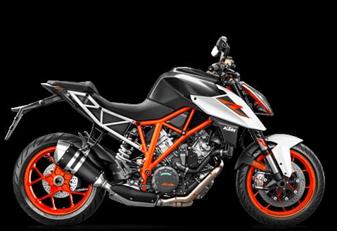 Nova KTM 1290 SUPER DUKE 2019 branca