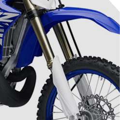 Suspensão da Nova Yamaha YZ 250 2019