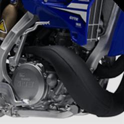 Motor da Nova Yamaha YZ 250