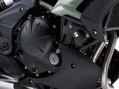 Motor da Nova Kawasaki Versys 650 2019