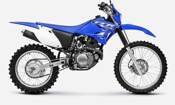 azul da Yamaha TT-R 230 2019