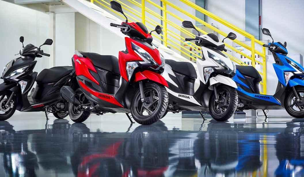 Todas Honda Elite 125 2021