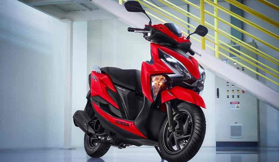 PrincipalNova Honda Elite 125 2020