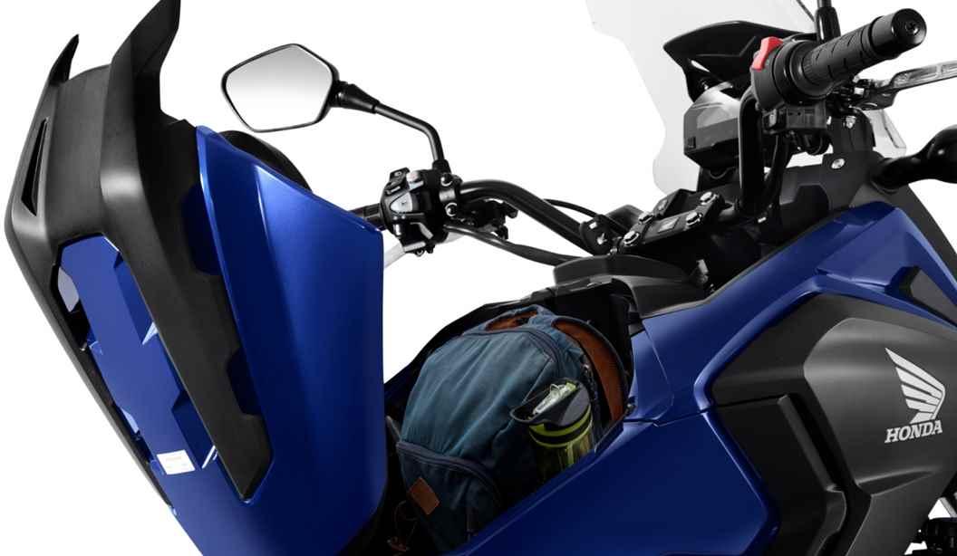 Porta capacete da NC 750X 2020