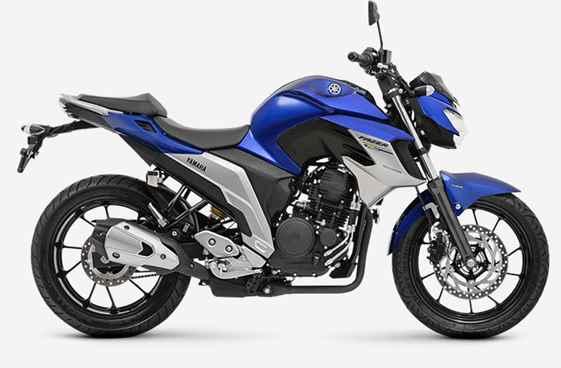 Imagem da Fazer 250 2020 na cor azul