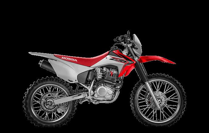 imagem da CRF 230F 2020 na cor vermelha