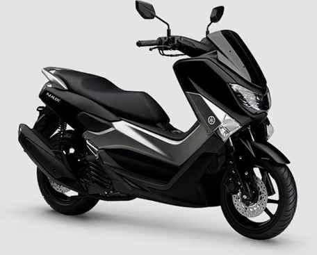 Imagem da Yamaha NMAX 160 2020 na cor preta