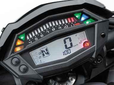Painel da Kawasaki Z1000 2020