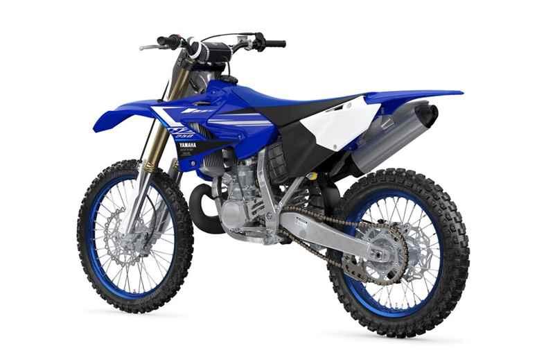 traseira da Yamaha YZ250 2020