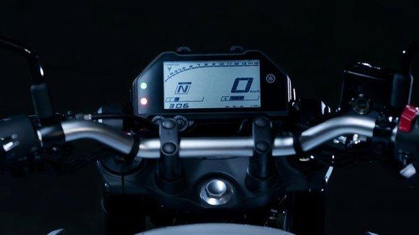 Painel da Nova Yamaha MT-03 2021