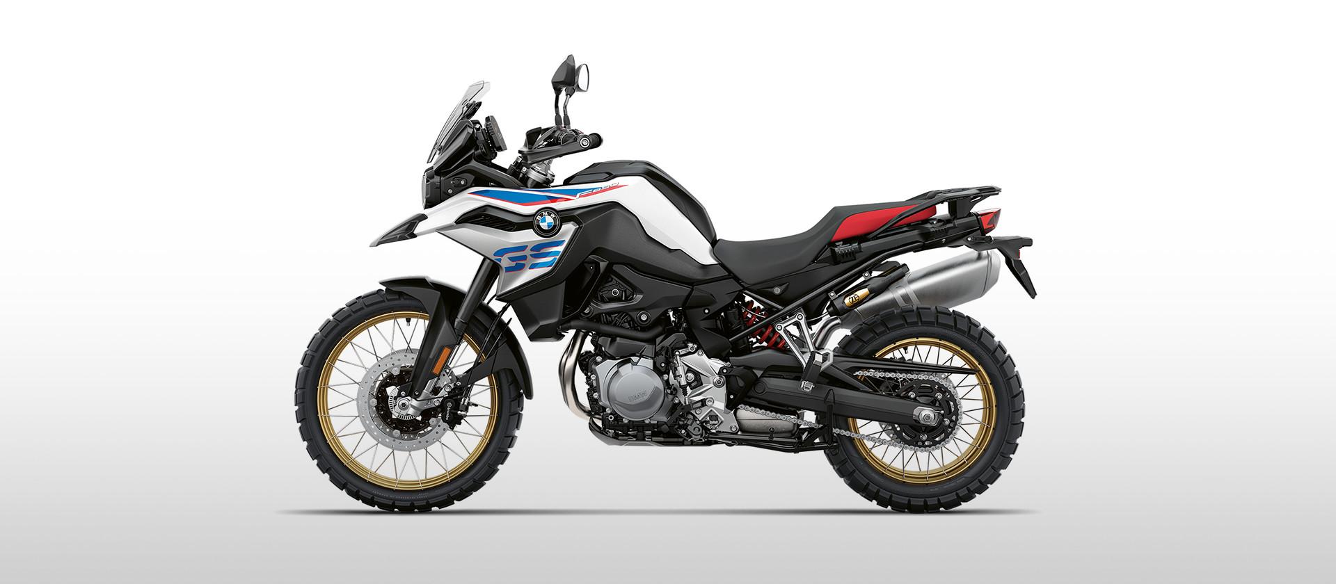 Imagem da Nova BMW F 850 2021 na cor prata