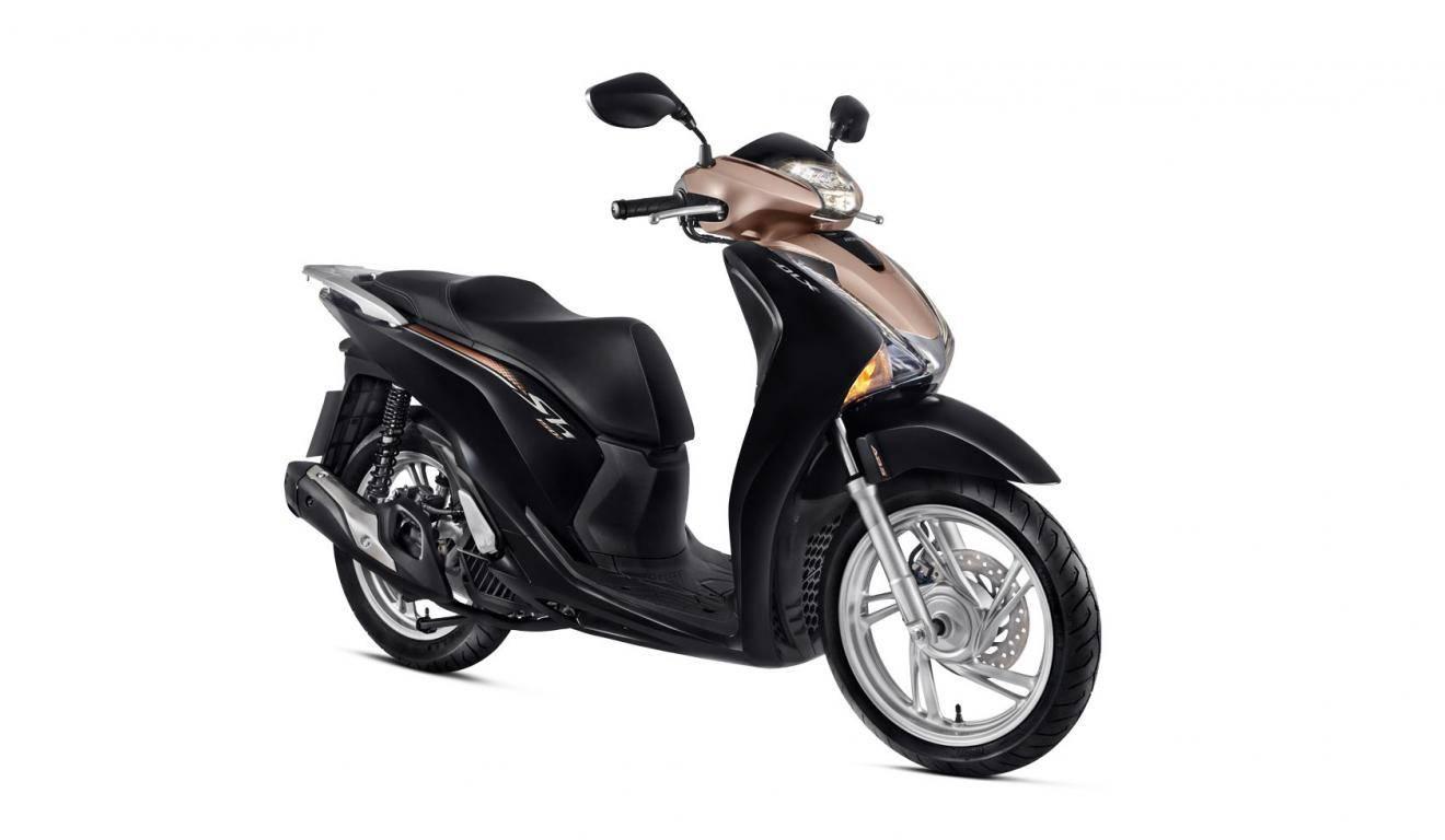 Imagem da Honda SH 150i 2021 na cor marrom
