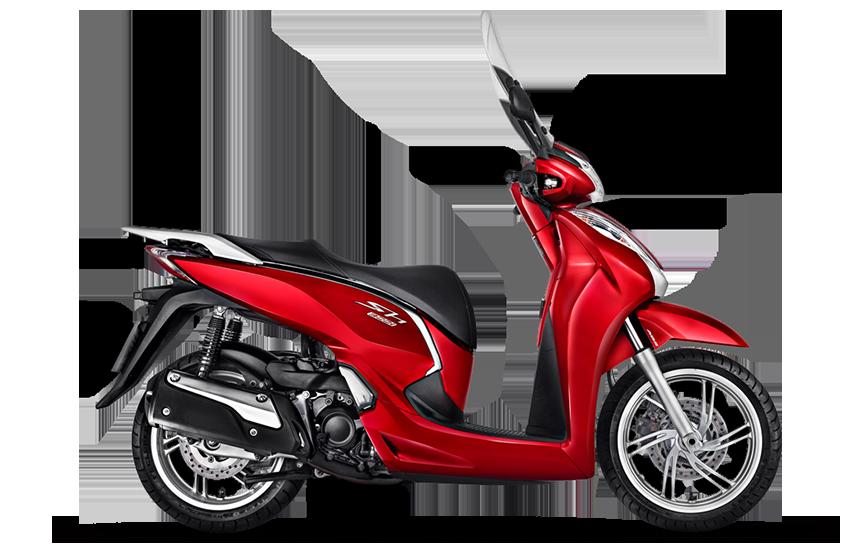 Imagem da Nova SH 300i 2021 na cor vermelha