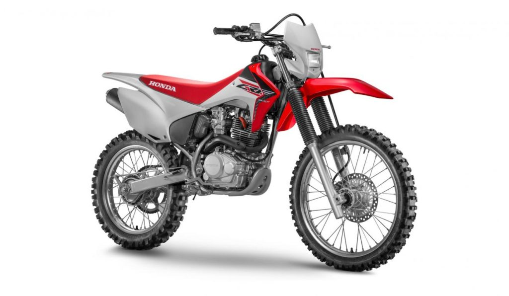 imagem da Tipos de Motos crf230