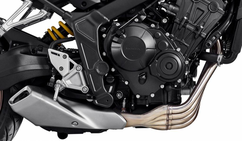 Motor da Nova CB 650R