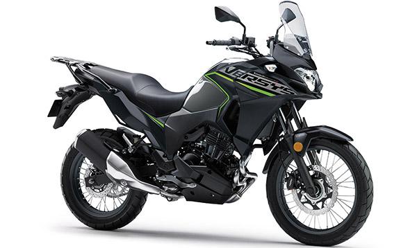 Imagem em destaque da Nova Kawasaki Versys-X 300 2021