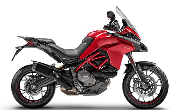 Imagem da Nova Ducati Multistrada 950 na cor vermelha