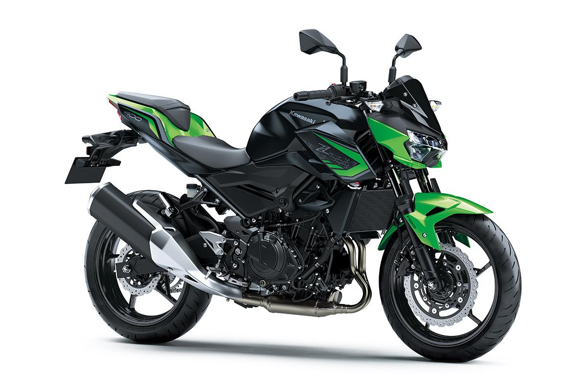 Nova Kawasaki Z400 2022